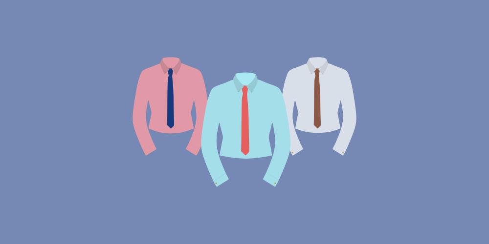 icône de trois costumes