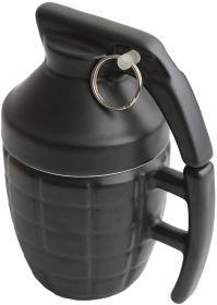 mur de transport café en forme de grenade