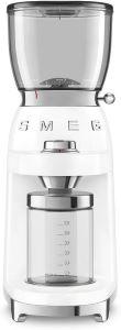 moulin à café électrique SMEG blanc