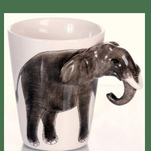Tasse avec Anse Éléphant - Beaux Cadeaux