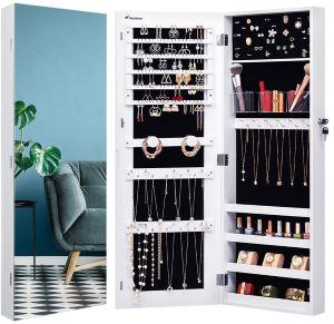 Armoire Miroir Rangement de Bijoux