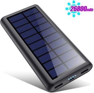 batterie de chargement externe à énergie solaire