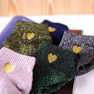 chaussettes paillettes - Beaux Cadeaux
