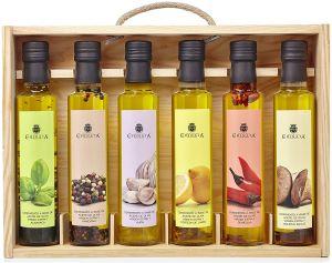 coffret cadeau 6 huiles d'olives