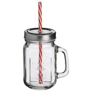 jarre verre paill - Beaux Cadeaux