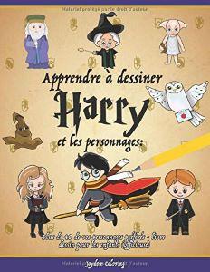 Livre pour Apprendre à Dessiner les Personnages de Harry Potter
