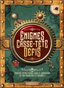 Livre d'Énigmes, Casse-tête & Défis