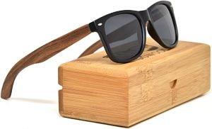 lunettes soleil bois - Beaux Cadeaux
