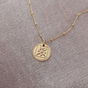 cadeau chaine en or medaillon