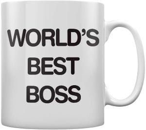 mug café pour travail world's best boss