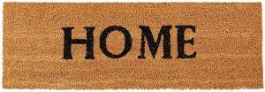Paillasson rectangulaire HOME marron