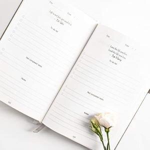 journal planer rose pour offrir