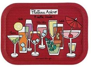 plateau rouge apéro - Beaux Cadeaux