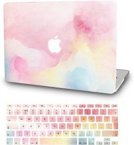 stickers pour ordinateur portable et pour clavier arc en ciel