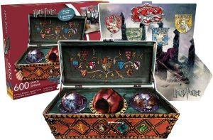 Puzzle 600 Pièces Malette de Quidditch Double Face