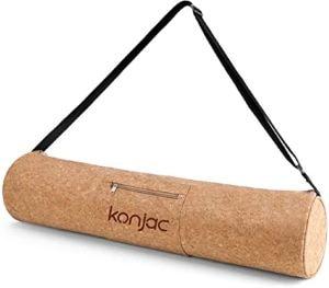sac à tapis de yoga en konjac