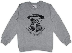 Sweat Gris Harry Potter pour Ados