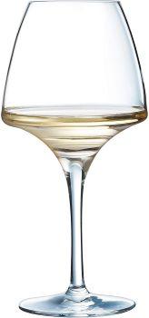 verre à vin design épais