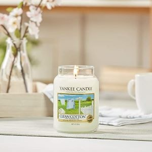bougie yankee candle clan cotton
