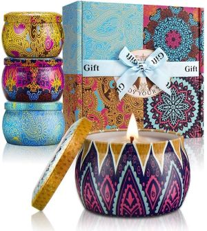 Coffret Cadeaux Bougies Parfumées