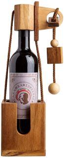 Casse-Tête en bois Bouteille de Vin