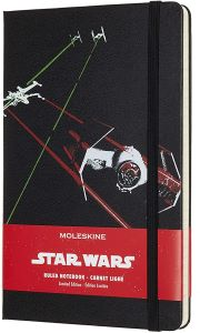Carnet Notes noir Moleskine X Star Wars