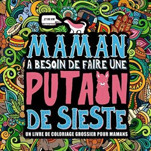 livre Coloriage Grossier pour Maman