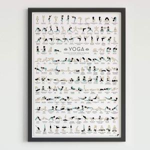 Poster Poses de Yoga
