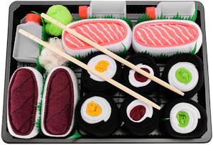 chaussettes sushi cadeaux boite - Beaux Cadeaux