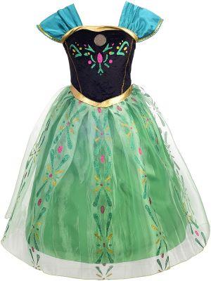 costume anna reine des neiges - Beaux Cadeaux