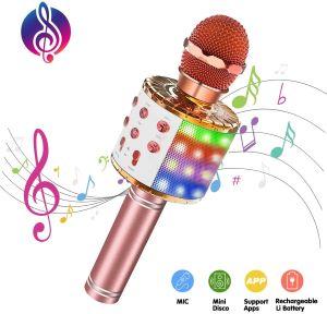 micro karaoke fille - Beaux Cadeaux