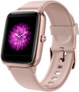montre connectée rose - Beaux Cadeaux