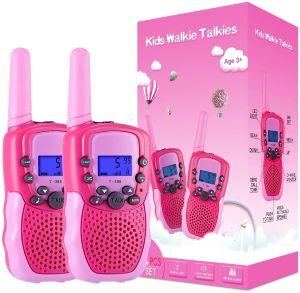 talkie walkie enfant fille - Beaux Cadeaux