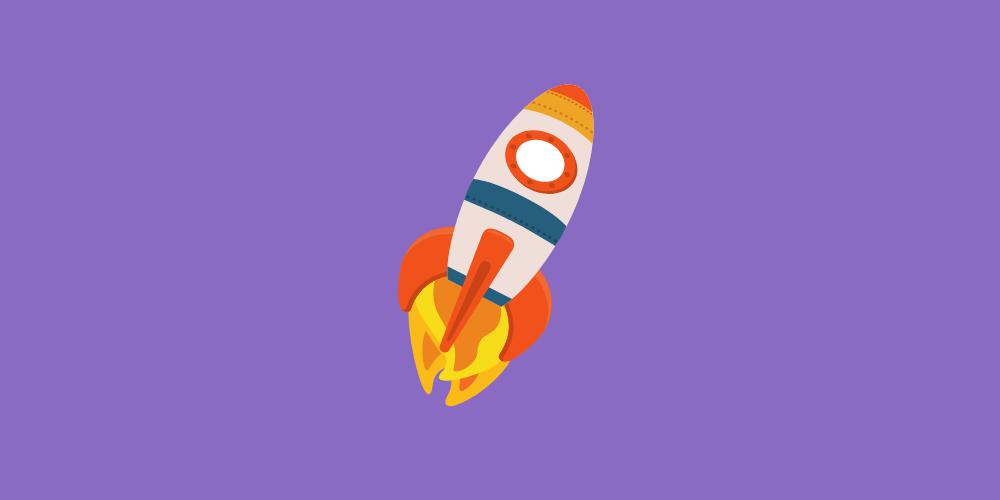 icone fusée jouet pour enfant à noël