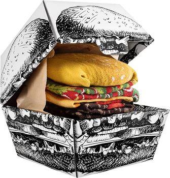 burger chaussette - Beaux Cadeaux