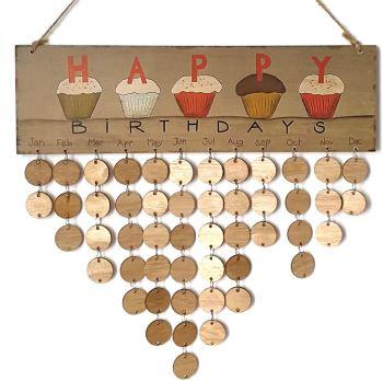 calendrier anniversaire - Beaux Cadeaux