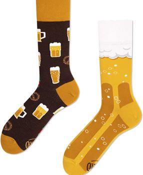 chaussettes imprimé biere