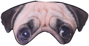 masque de nuit yeux de chien
