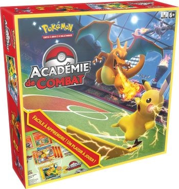 jeu pokémon académie de combat