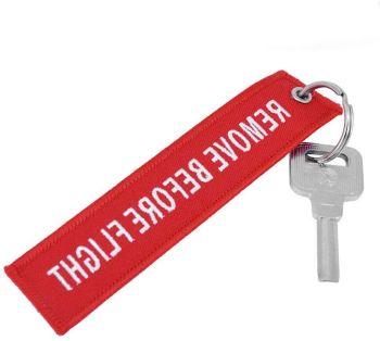 porte clef brodé à personnaliser