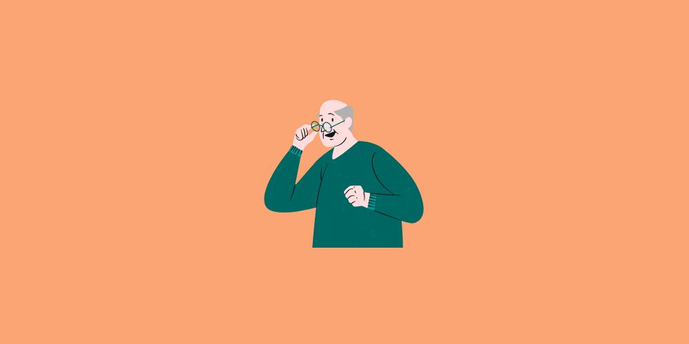 icone de grand père