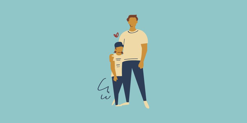 icone header papa pour la fête des pères