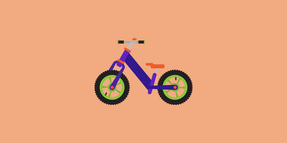 icone de vélo pour enfant