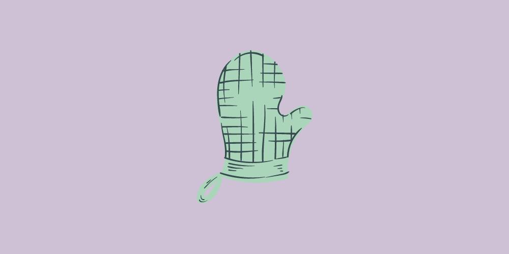 icone de gant de cuisine