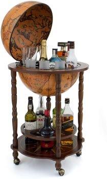 bar globe - Beaux Cadeaux