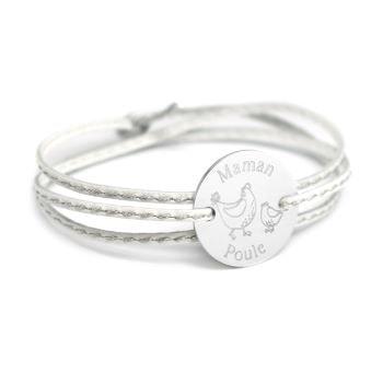 bracelet maman poule - Beaux Cadeaux