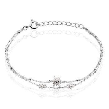 bracelet maman zirco - Beaux Cadeaux