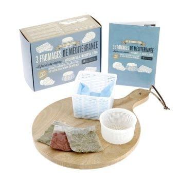 kit coffret cadeau pour fabriquer du fromage