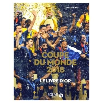 livre d'or de la coupe du monde de football 2018