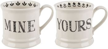 mugs blancs - Beaux Cadeaux